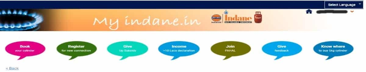 How to book Indane gas online